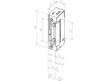 Elektromechaninė sklendė 118E---A71