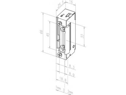 Elektromechaninė sklendė 118S---A71
