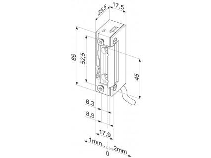 Elektromechaninė sklendė 118WE---A71