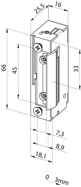 Elektromechaninė sklendė 138F---E91