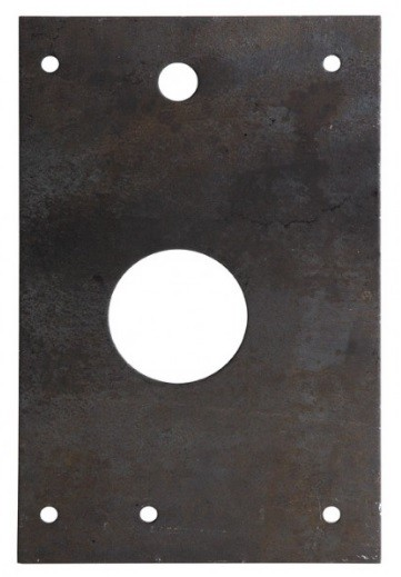 Grūdinto manganinio plieno plokštelė DEFENDER 85