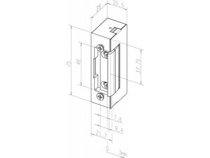 Elektromechaninė sklendė E7E---E4139