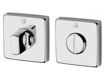 WC suktukų komplektas Ghidini kvadratinis chromas