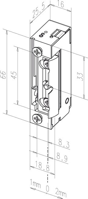 Elektromechaninė sklendė 128E---A71