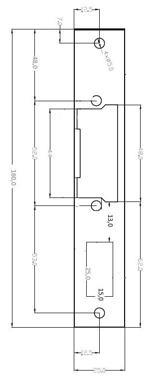 Plokštelė sklendei 60B/712