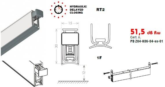 CCE CHRONO automatinis slenkstis CHRONOSEAL 15x30 930mm