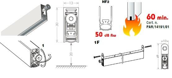 CCE COMFORT FIRE DROP 20 MINI 60 1030mm