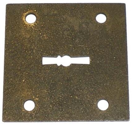 Grūdinto manganinio plieno plokštelė DEFENDER 40